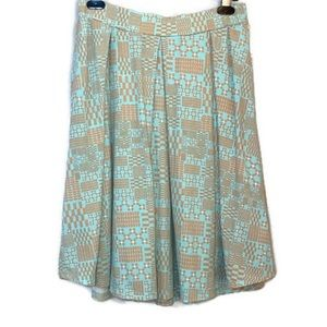 NWT LuLaRoe Madison Mod Print Full Skirt Medium